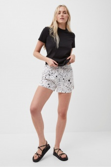 French Connection Droplet Drape Shorts