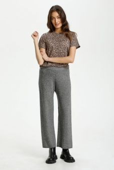 Culture Allie Pants Grey Mel.