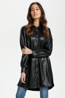 Culture Melissa Shirt Dress Black