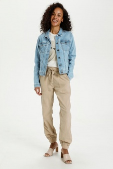 Kaffe Jeans jacka Light Blue Washed