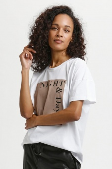 Kaffe Lera T-shirt Optical White