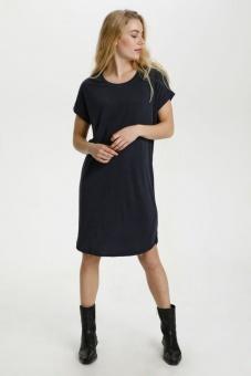 Culture Kajsa T-shirt Dress Black Wash