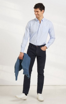 Boomerang Paul Oxford Solid Reg. Shirt Ice Blue