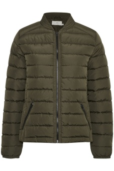 Kaffe Miamy Quilted Jacket Grape Leaf