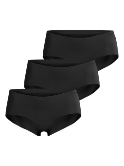Björn Borg Solid Hipster 3-pack Black Beauty