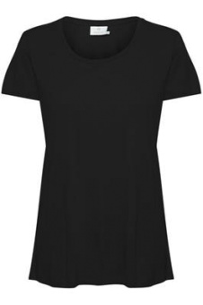 Kaffe Anna O-neck T-shirt Black