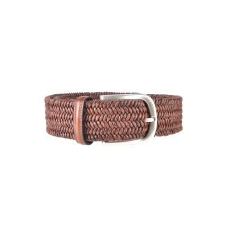 Athison Stretch Belt Brown L