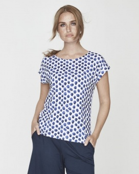 Holebrook Kajsa Capsleeve White/Navy