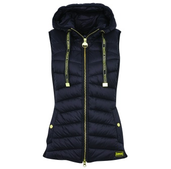 Barbour International Grid Gilet