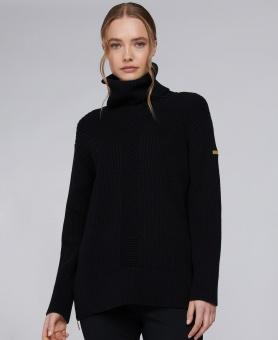 Barbour International Clypse Knit Black