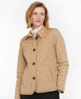 Barbour Forth Quilt Hessian