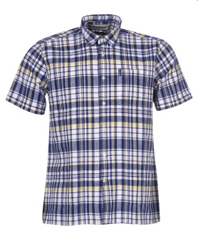 Barbour Linen Mix 2 Short Sleeved Summer Shirt