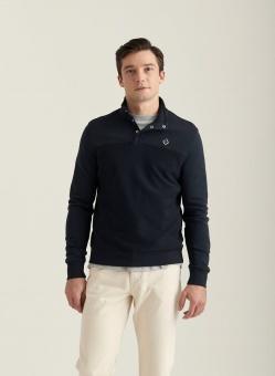 Morris Nortclyff sweatshirt Old Blue