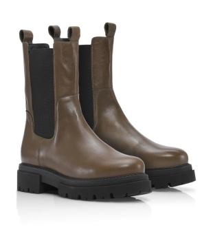 Shoe Biz Copenhagen Prima Vaca Alfa Dark Brown