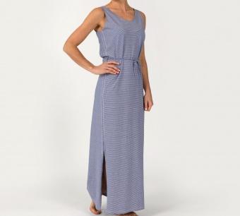 Sebago Linen Jersey Maxi Dress