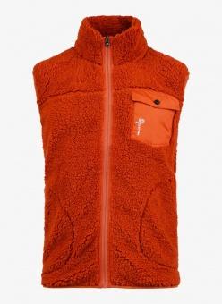 Pelle P Sherpa Vest Spice Orange