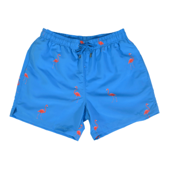 Decisive Swim Shorts Flamingo