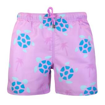 Decisive Turtle/Palm Swim Shorts