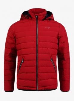 Pelle P Urbis Jacket Carmine Red