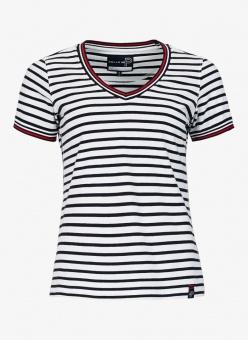 Pelle P Classic Stripe Short Sleeve DK Navy Stripe