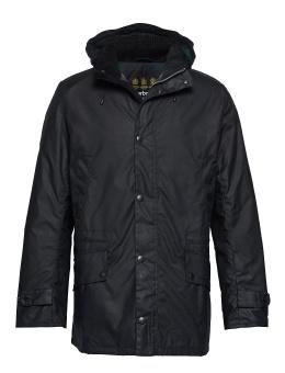 Barbour Gailey Wax Jacket - Navy