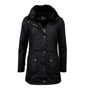 Barbour Kirk Wax Black