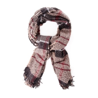 Barbour Tartan Boucle Scarf Winter Dress Tartan