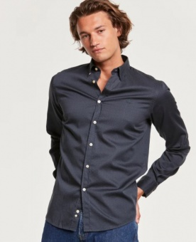 Morris Dalton Button Under Shirt Blue