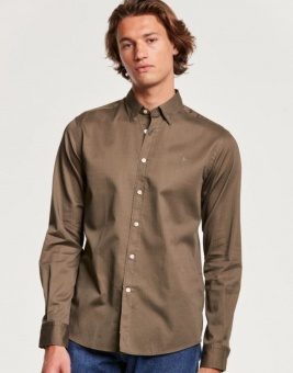 Morris Dalton Button Under Shirt Olive