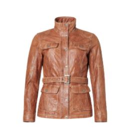 Saki Kelly Fieldjacket Cognac