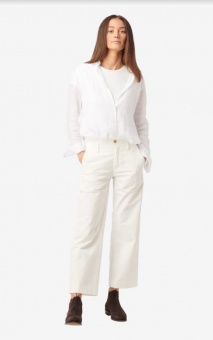 Boomerang Frida Cropped Trouser Offwhite