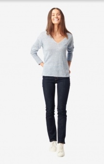 Boomerang Lilja Linen Sweater Skyway