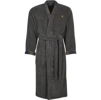Barbour Lanchlan Dressing Gown Charcoal
