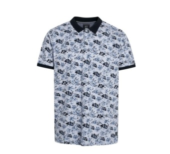 Signal Orion Botanic Print Dutch Polo