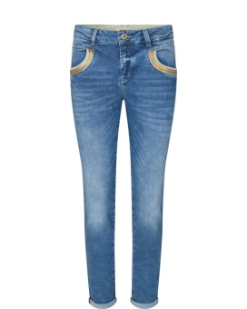 Mosmosh Sumner Shine Jeans Blue Ankle