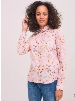 Newhouse Primavera Liberty Shirt Light Pink