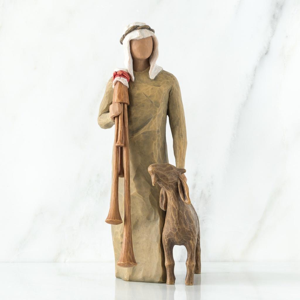 Zampognaro (Shepherd with bagpipe)