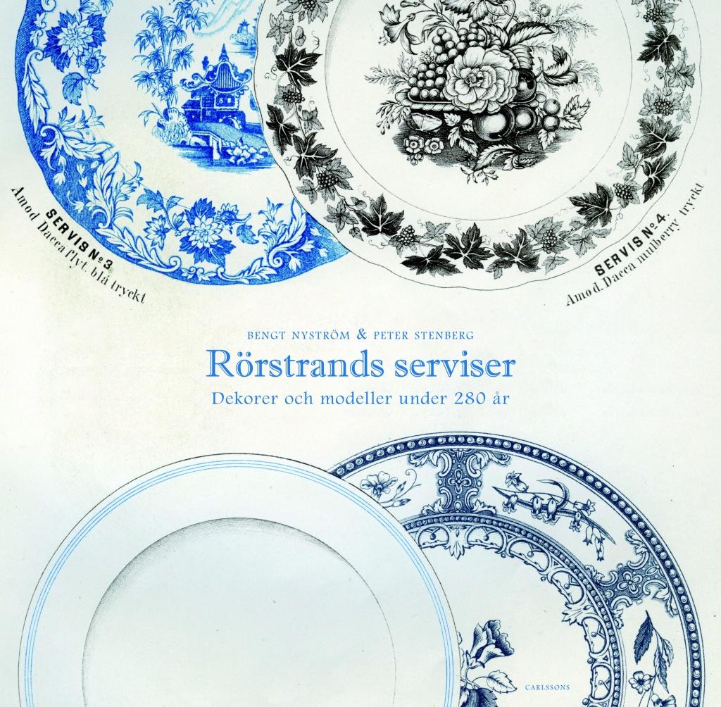 Rörstrands serviser: Dekorer och modeller under 280 år