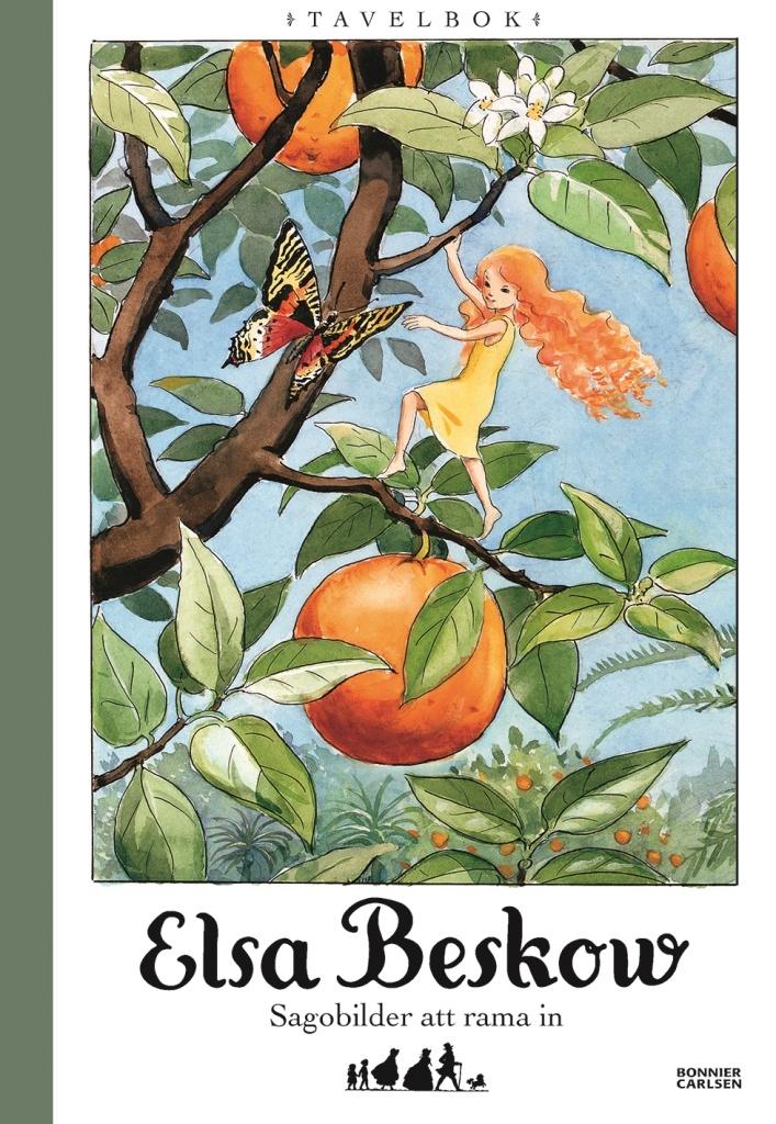 Elsa Beskow: tavelbok - sagobilder att rama in