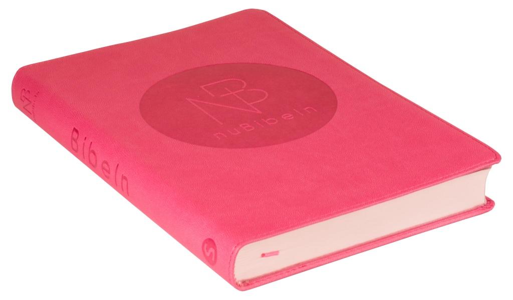 nuBibeln slimline - rosa, konstskinn