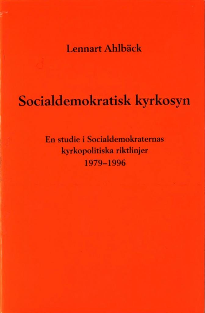 Socialdemokratisk kyrkosyn