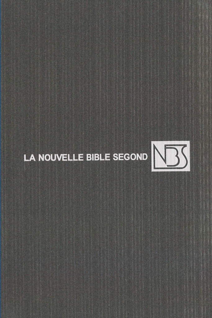 La Nouvelle Bible Segond (NBS)