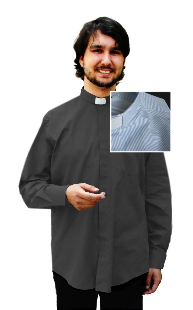 Frimärksskjorta mönstrad