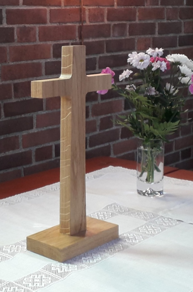 Bordskors, ek, 33 cm högt