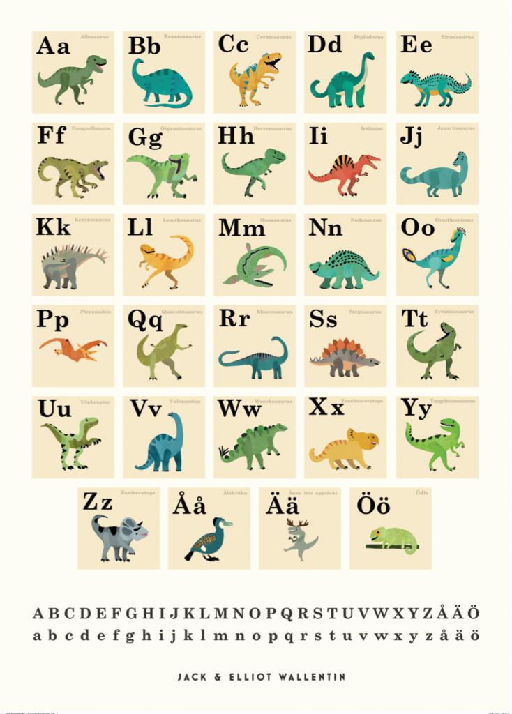 ABC - Dinosaurier