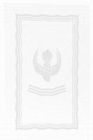 Dopservett, i vatten och Ande, linnedamast, 30x50 cm