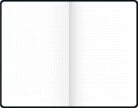 Anteckningsbok, punktad A6, grön