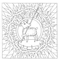 Målarbok Påsk