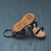 Sandal, olivträ från Nasaret