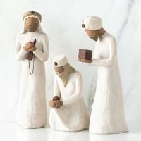 De tre vise männen, 3 figurer